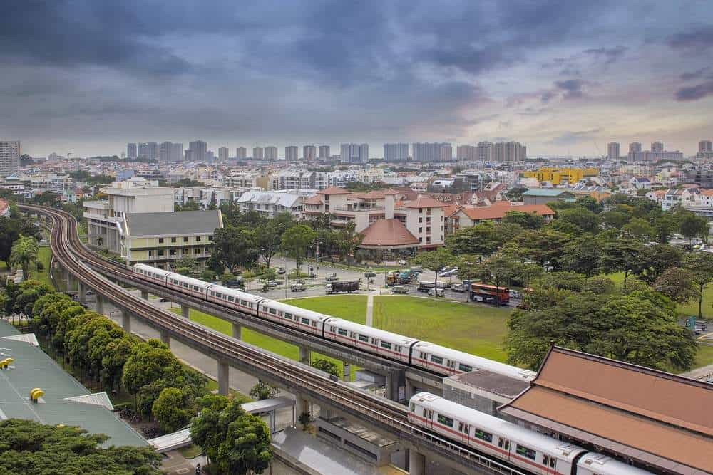 Get a train from Singapore to Bangkok