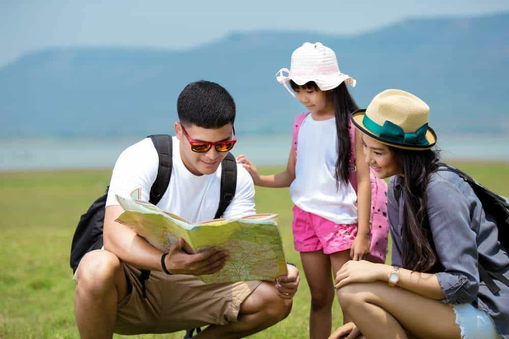 plan your RTW route with your kids