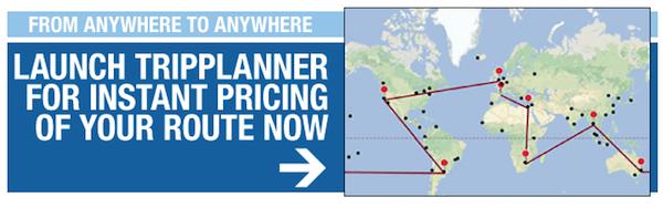 Around the world trip planner