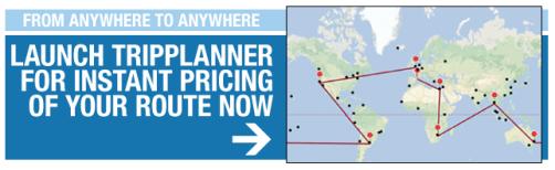 around the world trip planning