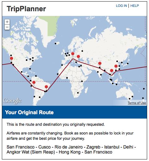 TripPlanner solution