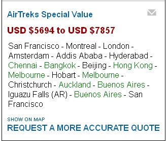 TripPlanner price