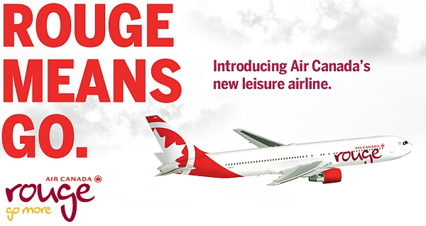 Air Canada Rouge Airlines