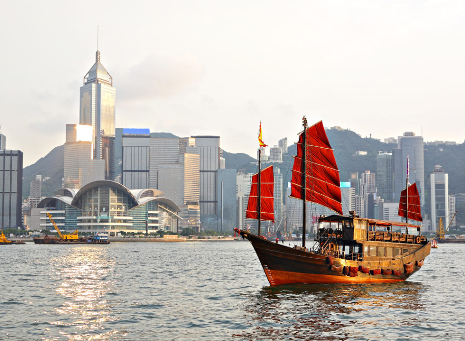 boat rides on a layover in hong kong