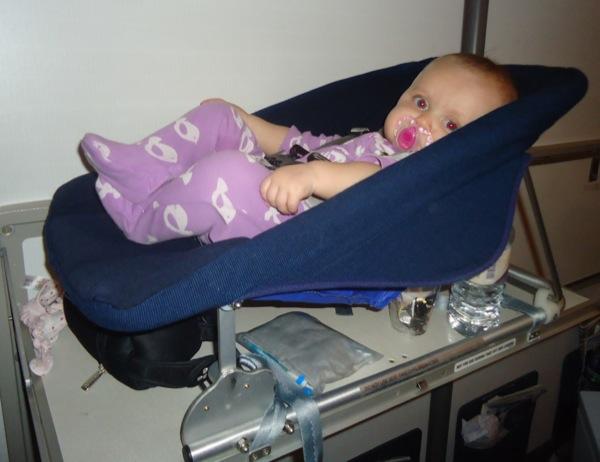 AT Sky in car seat bassinet