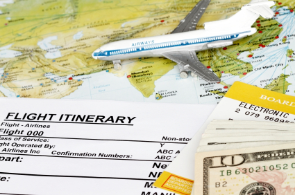toy-plane-map-and-itinerary